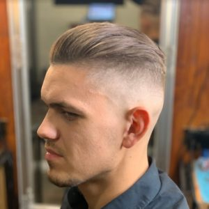 férfi frizura